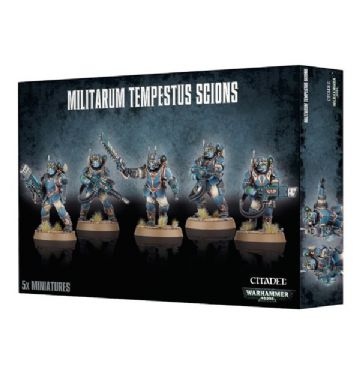 Games Workshop Warhammer 40000 40K Militarum Tempestus Scions 47-15